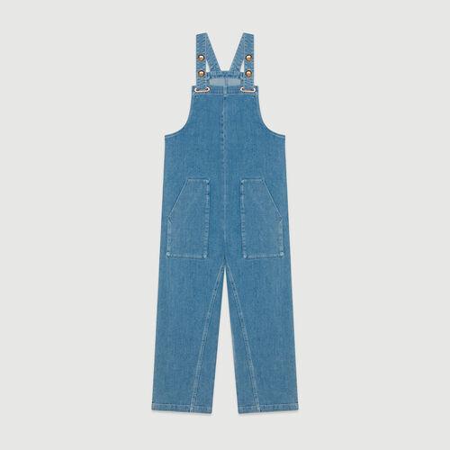 Jeans Jumpsuit : Jeans farbe Denim