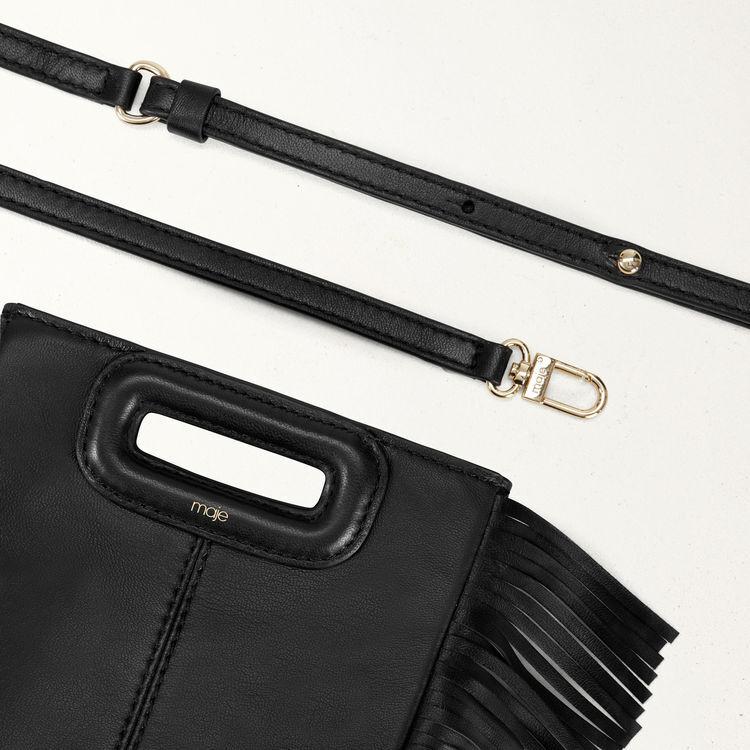 M Mini Leder Tasche mit Kette : M Mini farbe Schwarz