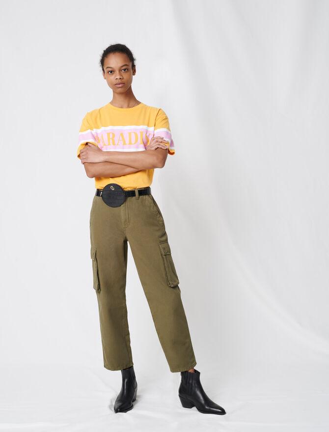 Denimhose im Cargostil - Hosen & Jeans - MAJE