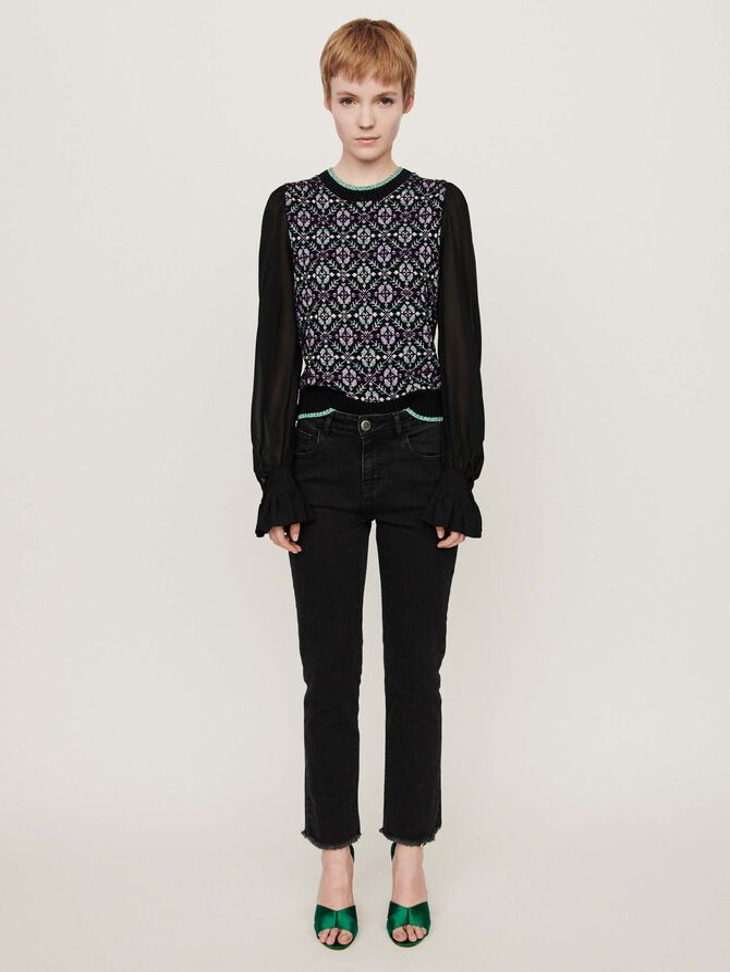 Gerade Basic Jeans - Hosen & Jeans - MAJE