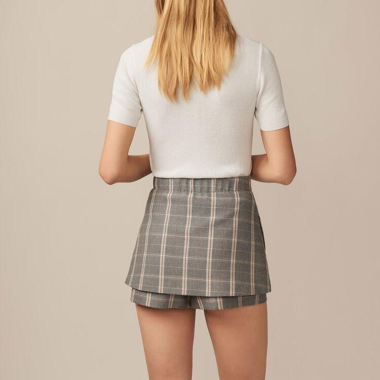 Pullover aus feinem Strick : Strickwaren farbe Ecru