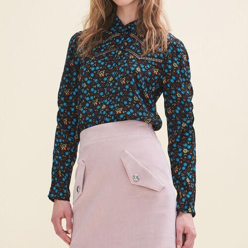 Hemdbluse mit Blumendruck : Tops farbe IMPRIME