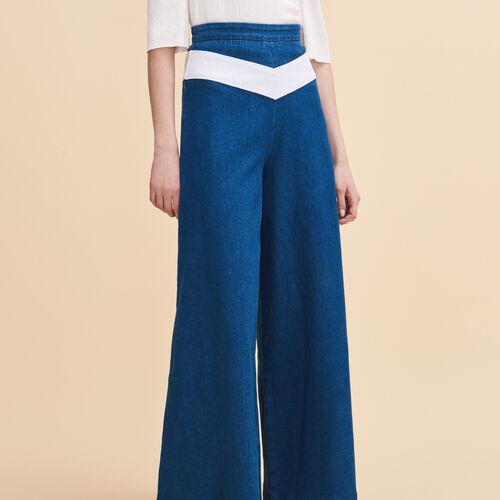 Hosenrock aus Jeans : Hosen und Jeans farbe Denim