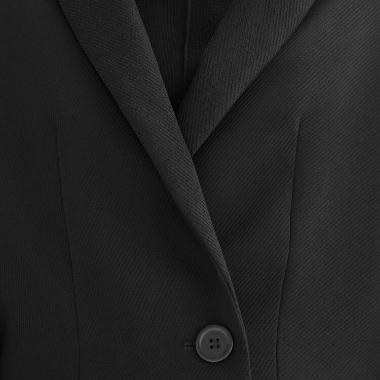 Kurze Spencerjacke : Blousons & Vestes farbe Schwarz