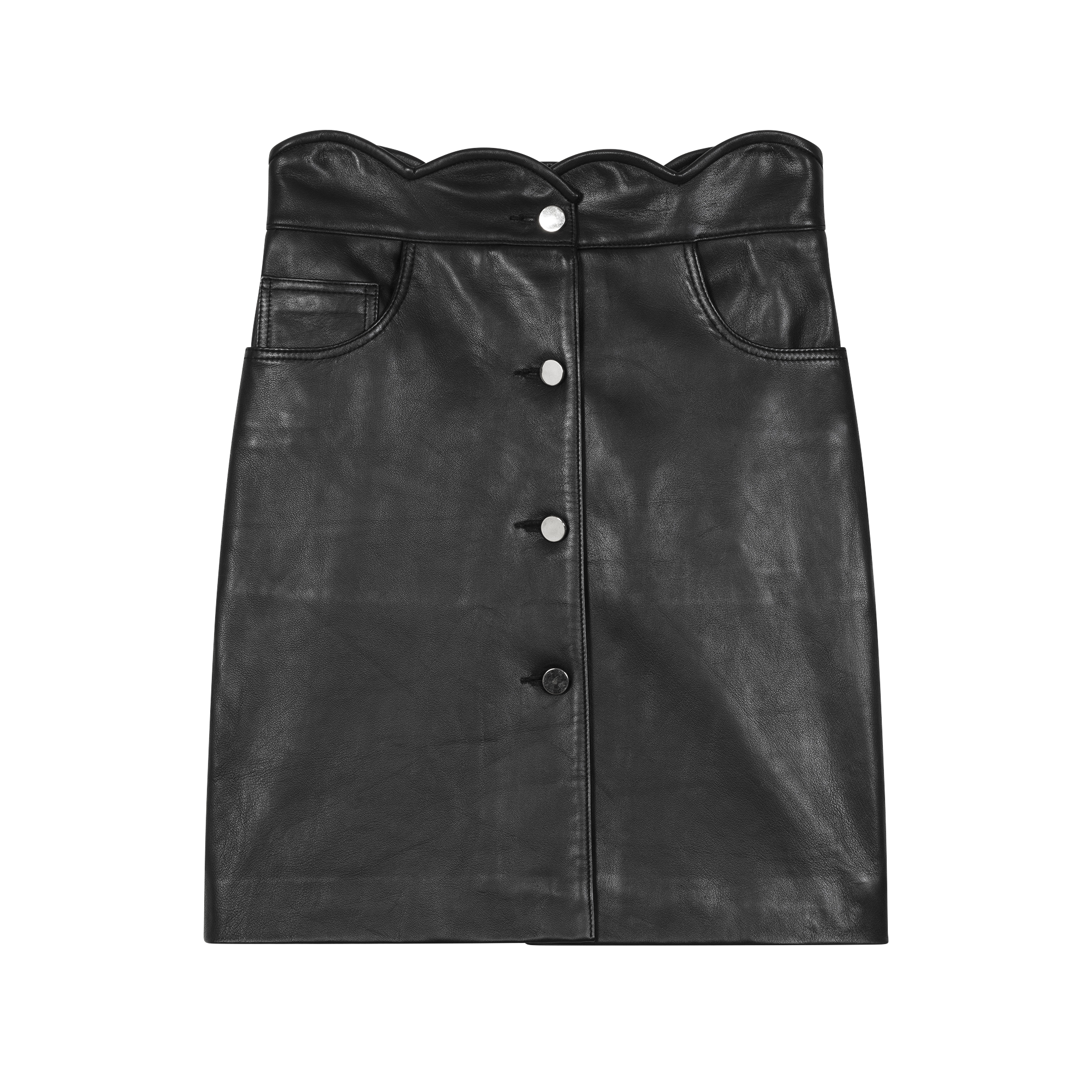 Leather skirt - Röcke & Shorts - MAJE